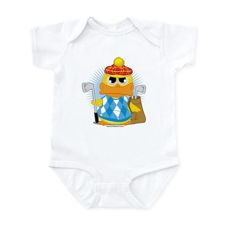 Golf Duck Infant Bodysuit
