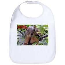 Unique Adhd squirrel Bib