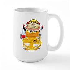Firefighter Duck Mug