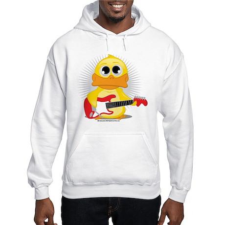 Electric Guitar Duck Hooded Sweatshirt