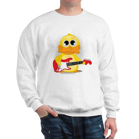 Electric Guitar Duck Sweatshirt