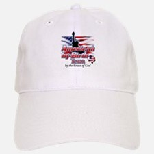 American by Birth, Texan by the Grace of God Baseball Baseball Cap