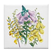 Funny Florist Tile Coaster