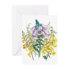 Cute Floral botanical Greeting Card