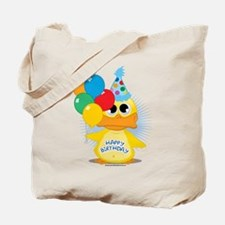 Happy Birthday Duck Tote Bag
