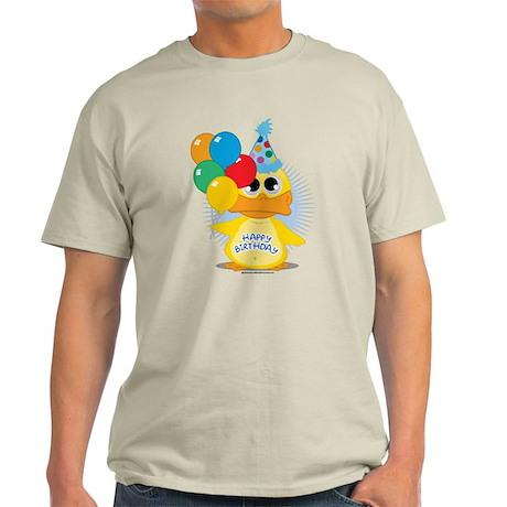 Happy Birthday Duck Light T-Shirt