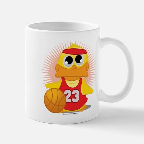 Basketball Duck Mug