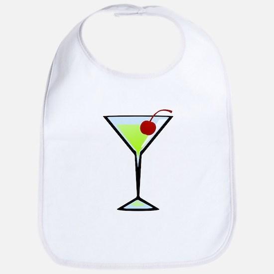 Green Apple Martini Bib