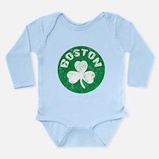 Boston Long Sleeve Infant Bodysuit