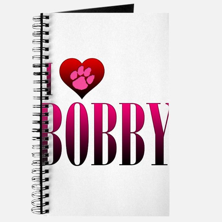 I Heart Bobby Journal