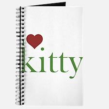 I Heart Kitty Journal