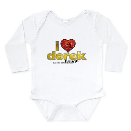 I Heart Derek Hough Long Sleeve Infant Bodysuit