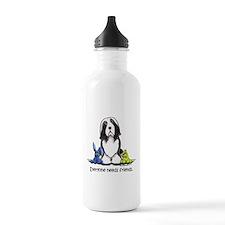 Beardie Needs Friends Water Bottle