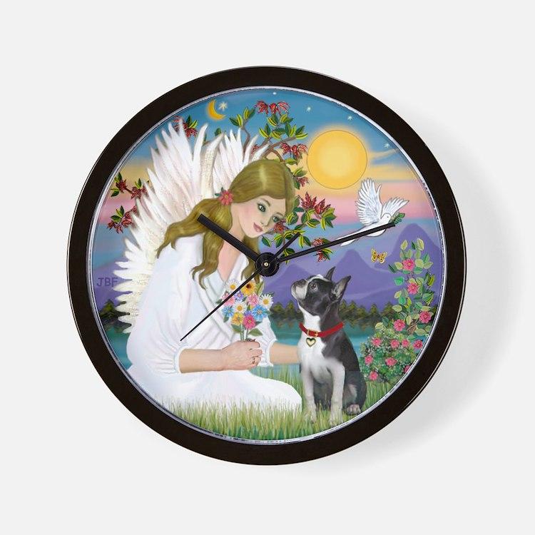Angel Love / Boston T 3 Wall Clock