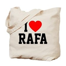 I Love Rafa Tote Bag