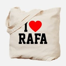 I Love Rafa Tote Bag