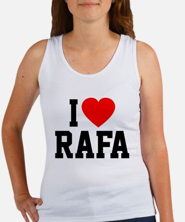I Love Rafa Women's Tank Top
