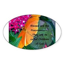 Peacemaker Butterfly Decal