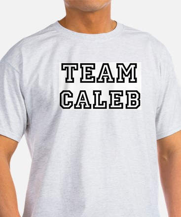 Team Caleb Ash Grey T-Shirt
