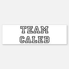 Team Caleb Bumper Bumper Bumper Sticker