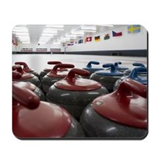 Curling Club Stones Mousepad