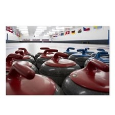 Curling Club Stones Postcards (Package of 8)
