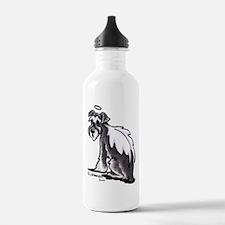 Schnauzer Angel Water Bottle