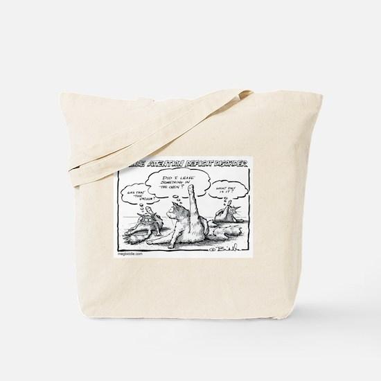 Deep Cat/ Feline ADD Tote Bag