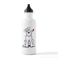 Schnauzer Sweetheart Water Bottle
