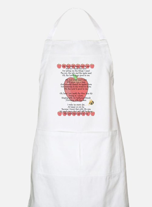 Johnny Appleseed Grace Apron