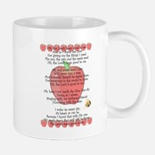 Johnny Appleseed Grace Small Mugs