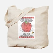 Johnny Appleseed Grace Tote Bag