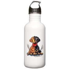 Smooth Dachshund Lover Sports Water Bottle