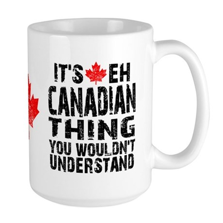 Canadian Thing Large Mug