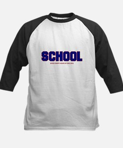 Seven Crappy Hours Kids Baseball Jersey