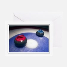 Curling Stones Greeting Cards (Pk of 10)