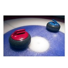 Curling Stones Postcards (Package of 8)