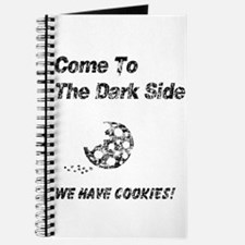 Vintage Come to the Dark Side Journal