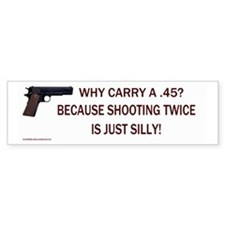 TwiceSilly_Bumperstickers (Bumper)