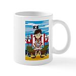Little Pirate and Ship Coffee Mug
