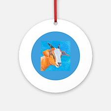 Goat #1 Ornament (Round)