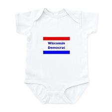Wisconsin Democrat Infant Creeper