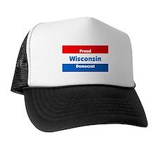 Wisconsin Proud Democrat Trucker Hat