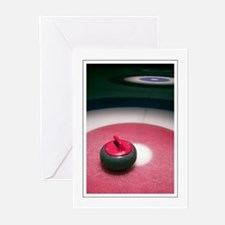 Curling Stone Greeting Cards (Pk of 10)