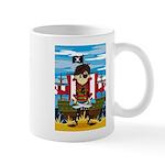 Little Eyepatch Pirate and Ship Coffee Mug