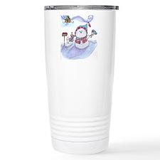 Snowman Travel Mug