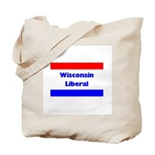 Wisconsin Liberal Tote Bag
