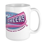 Team All Cheers! Large Mug