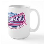 Team All Cheers! Large Mug