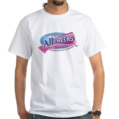 Team All Cheers! White T-Shirt